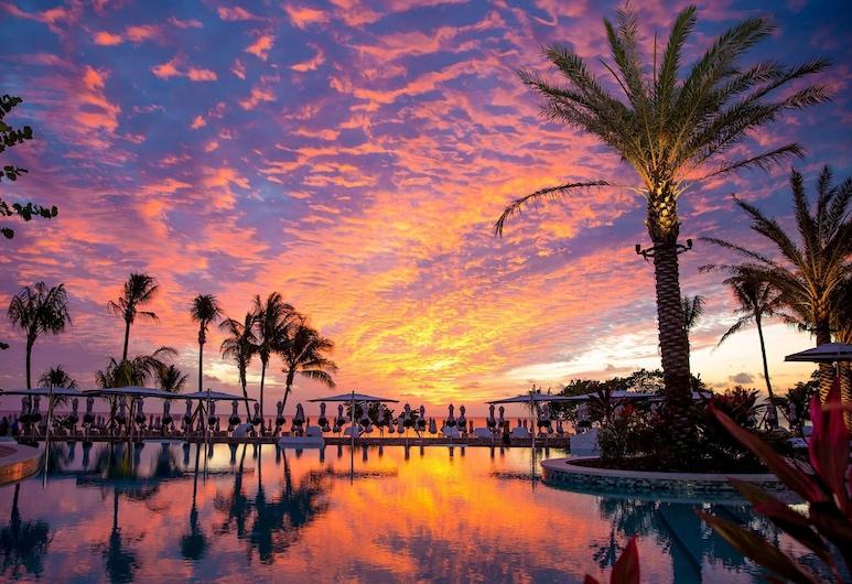 Kimpton Seafire Resort and Spa, חוף שבעת המיילים, נוף לחוף/לאוקיינוס