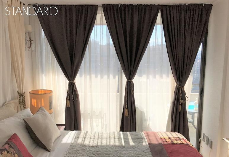 VIP Home Apart Hotel, Santiago, Standard Apartment, 1 Bedroom, Kitchen, Mountain View, Room