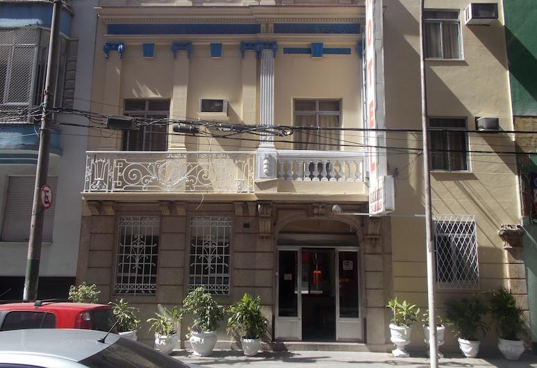 Hotel Caxambu, Rio de Janeiro, Hotel homlokzata