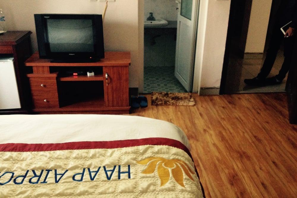 Zimmer, 1 Doppelbett - Wohnzimmer