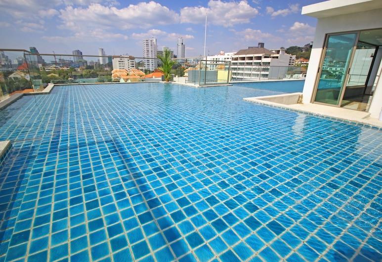 Water Park by Pattaya Sunny Rentals, Pattaya, Rooftop Pool