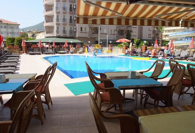 Riviera Apart Hotel, Alanya, Quầy bar bên hồ bơi