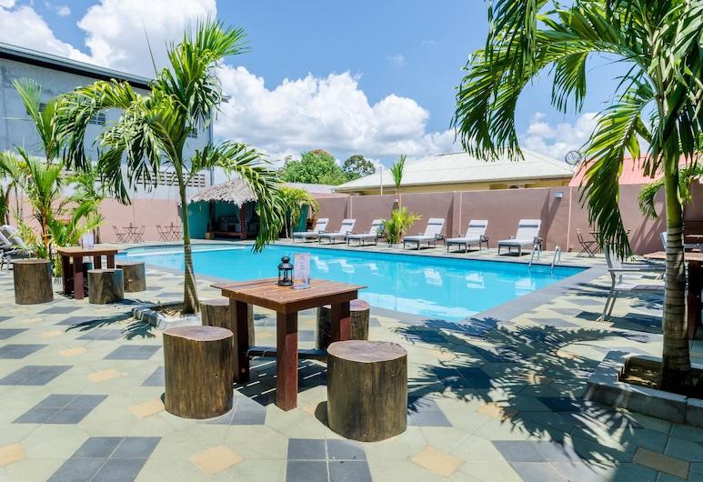 Hotel Babylon, Paramaribo, Terrace/Patio