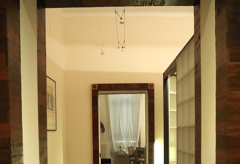 聖多明哥藝術飯店, 都靈市, 行政公寓, 1 間臥室, 客廳
