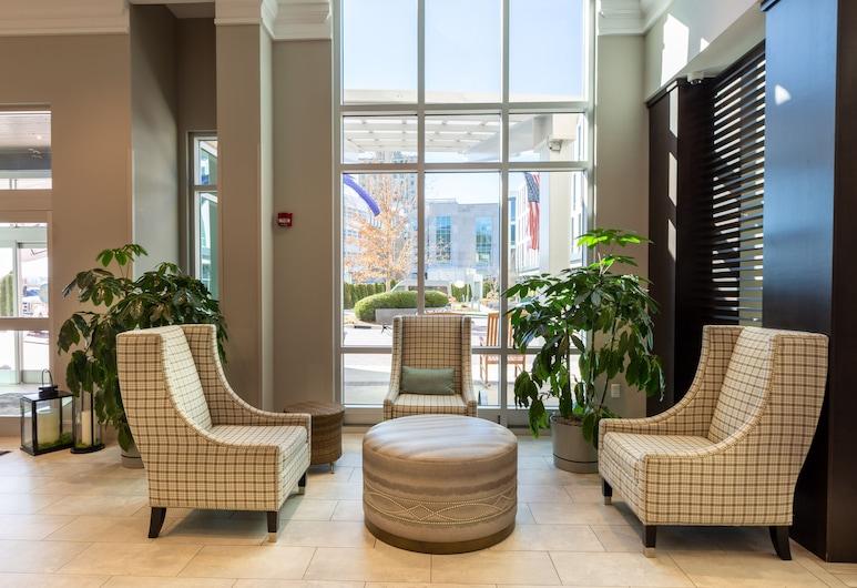 Hilton Garden Inn Asheville Downtown, Asheville, Prostor za sjedenje u predvorju