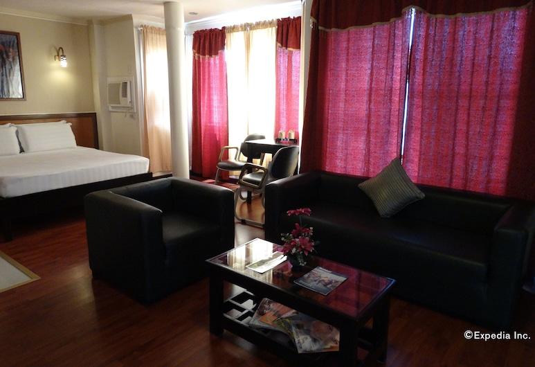 RueMango Apartelle and Suites, Davao, Área de Estar
