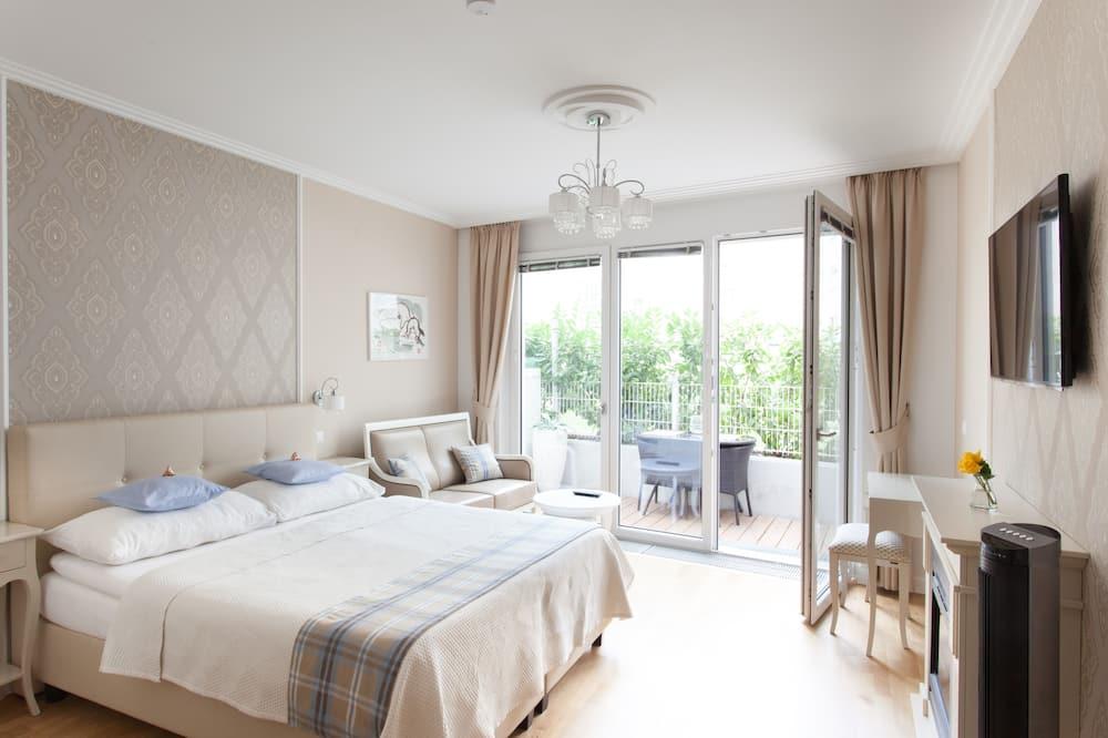 Apartemen, teras, pemandangan kebun (Cleaning Fee Included in Price) - Area Keluarga