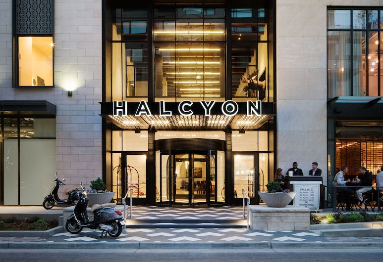 Halcyon - a hotel in Cherry Creek, Denver, Hotel Front