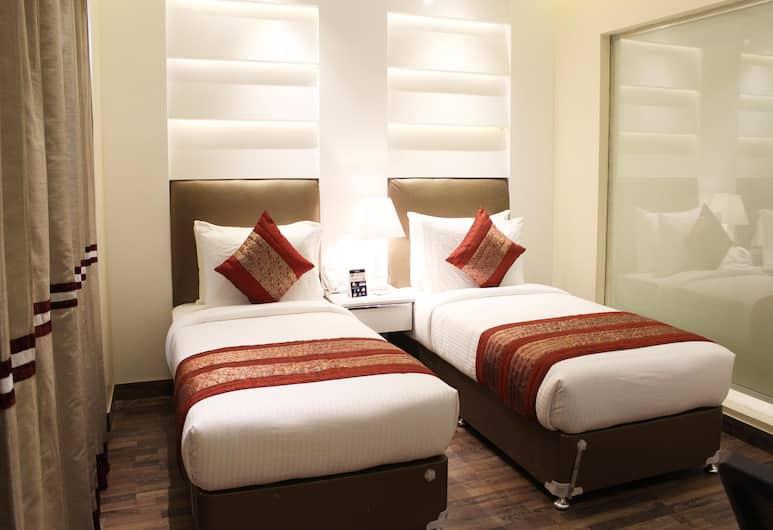 OYO 2637 Hotel Picasso Prive, Nuova Delhi, Camera Standard con letto matrimoniale o 2 letti singoli, 1 camera da letto, bagno privato, Camera
