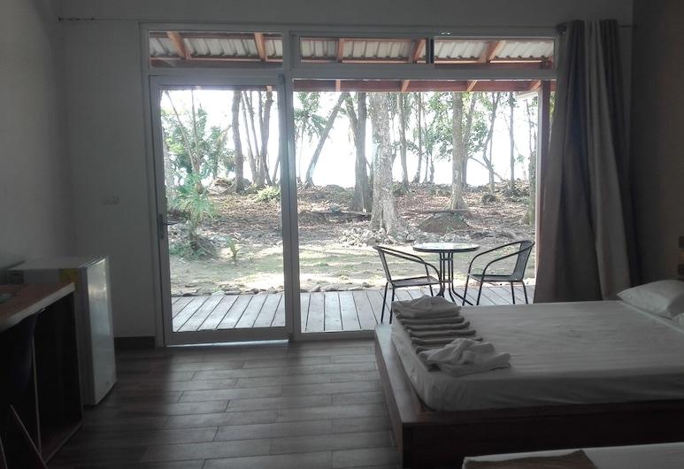 Cahuita Inn, Cahuita, Habitación cuádruple, 2 camas Queen size, vista al mar, Habitación