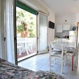 Basic-Apartment, 1 Schlafzimmer, Raucher, Kochnische - Wohnbereich