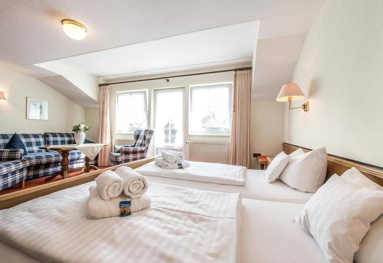 漢斯布勞提甘藍德加斯霍夫飯店, 施馬倫堡, 高級雙人房, 1 張標準雙人床, 非吸煙房, 客房