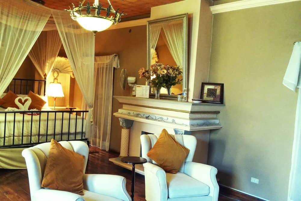 Suite, balcone (Street View) - Area soggiorno