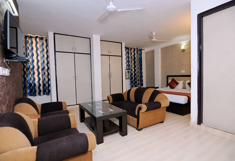 OYO 2041 Hotel Silver Land, New Delhi, Standaard kamer, 1 twee- of 2 eenpersoonsbedden, privébadkamer, Kamer