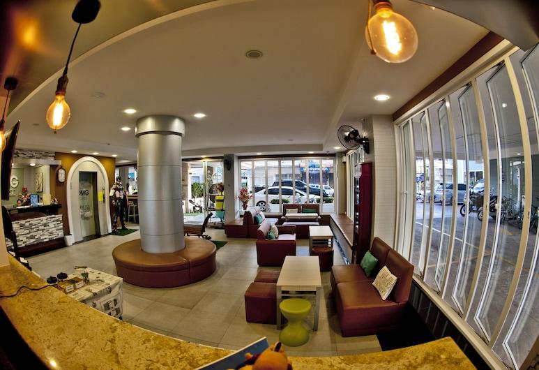 OMG Hotel, Khon Kaen, Sitteområde i lobbyen