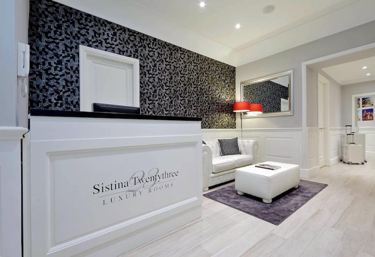 Sistina Twentythree Luxury Rooms, Rome