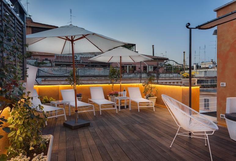 Shali Luxury Suite, Rome, Terrace/Patio