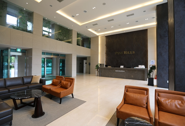 Pinehills Hotel, Suncheon, Sala de Estar do Lobby
