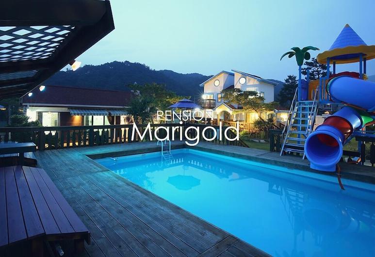 Marigold Pension, Gyeongju, Waterslide