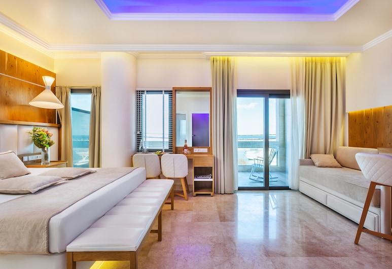 Porto Marine Hotel, Dio-Olympos, Numeris, vaizdas į jūrą, Svečių kambarys