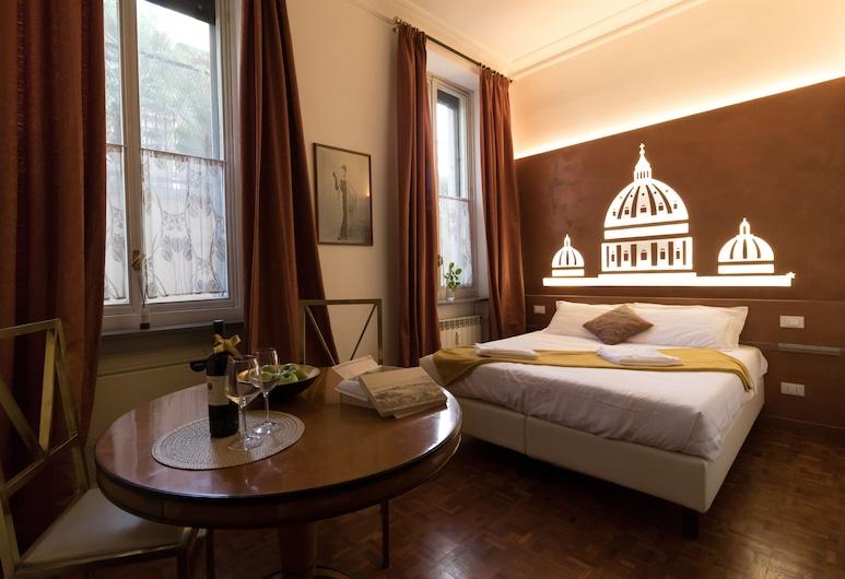 에이스타 인, 로마, 슈피리어 더블룸, 퀸사이즈침대 1개, 객실