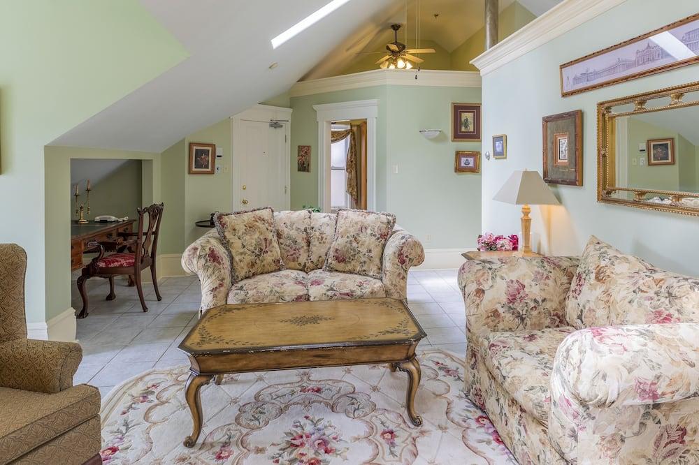 Penthouse ejecutivo, 1 cama King size - Sala de estar
