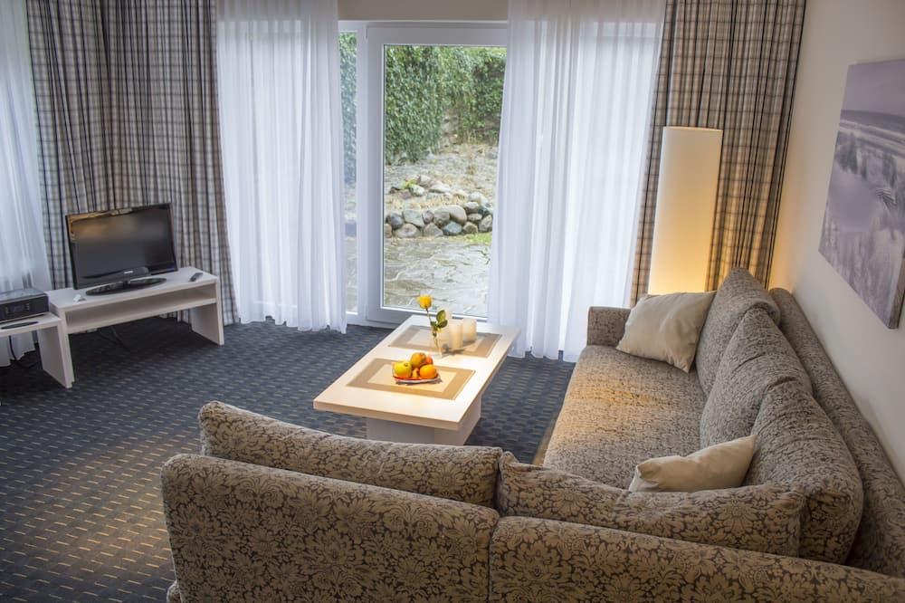 家庭套房, 2 間臥室, 廚房, 花園 - 特色相片