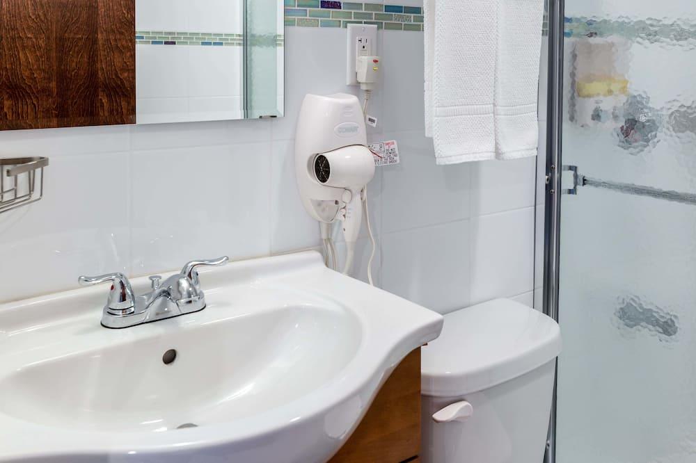 Room, 1 Full Bed - Bathroom