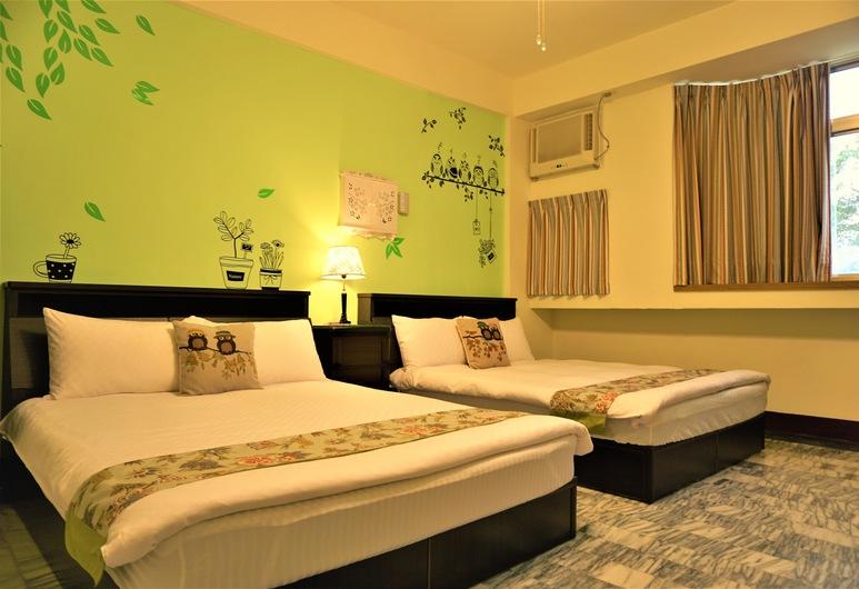 Snail Trail B&B, Taitung, Četverokrevetna soba, Soba za goste
