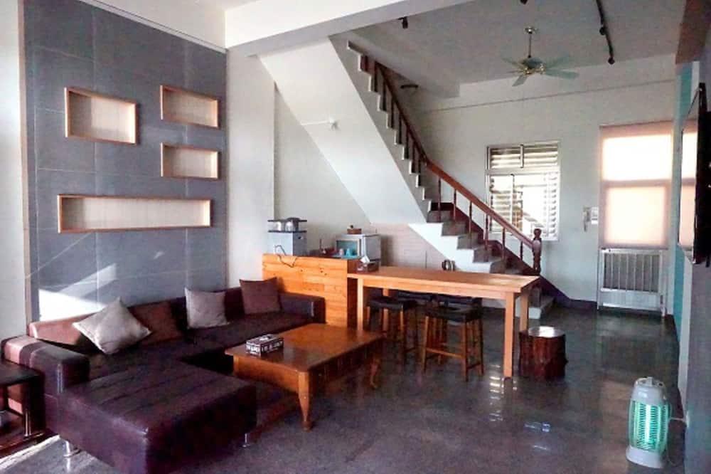 標準套房, 1 間臥室, 山景, 山間 (3A-2) - 客廳