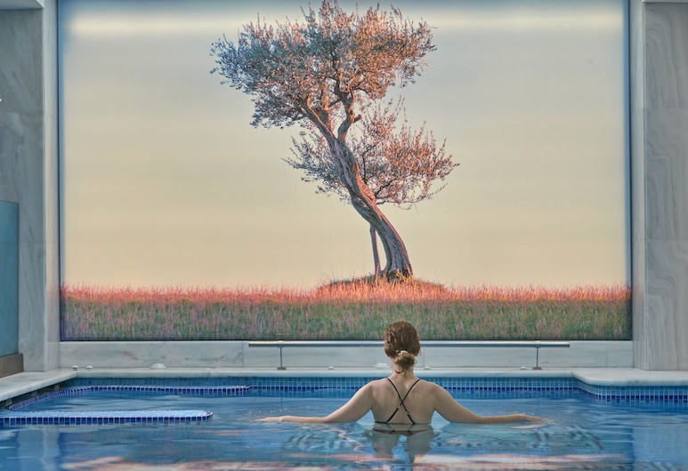 雅典愛樂特拉大都會酒店, 雅典, 室內泳池