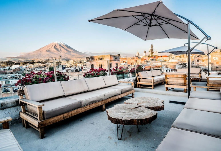Palla Boutique Hotel, Arequipa, Sundeck