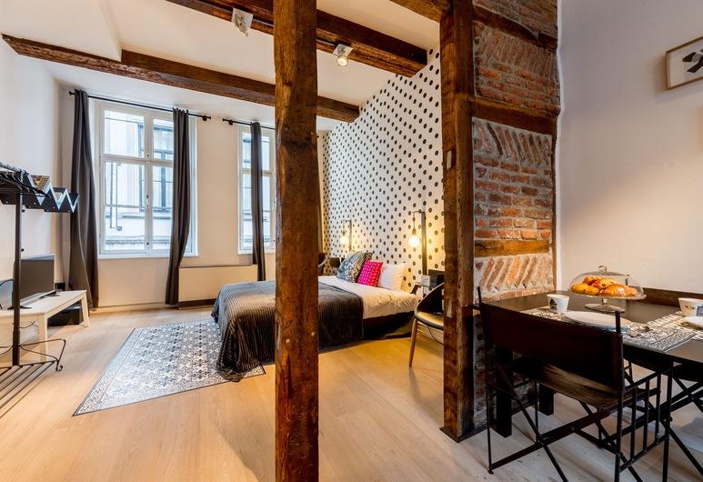 Smartflats City - Saint-Jean, Lüttich, Comfort-Studio, Zimmer