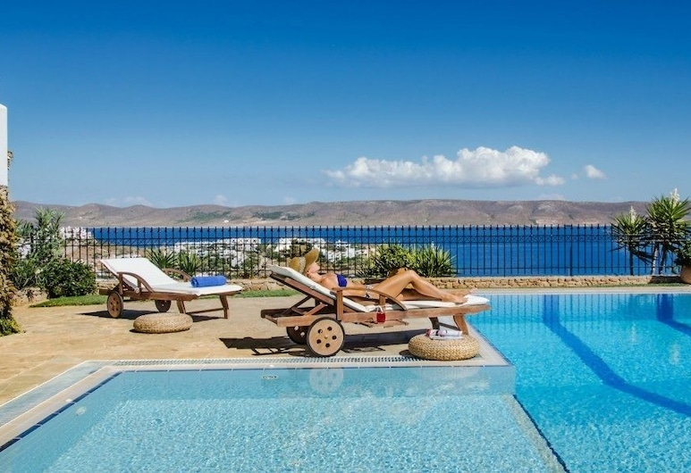 Sounio Villa, Lavreotiki, Vonkajší bazén