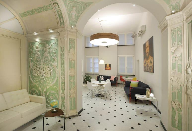 Hotel Le Nuvole - Residenza d'Epoca, Cenova, Lobi Oturma Alanı