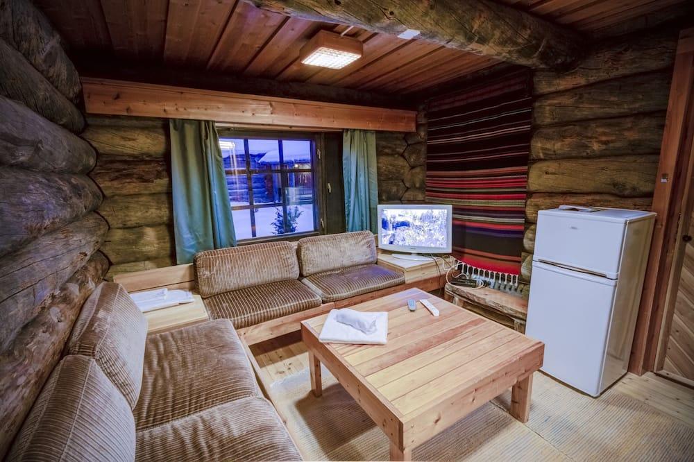Economy Twin Room, Shared Bathroom - Living Room