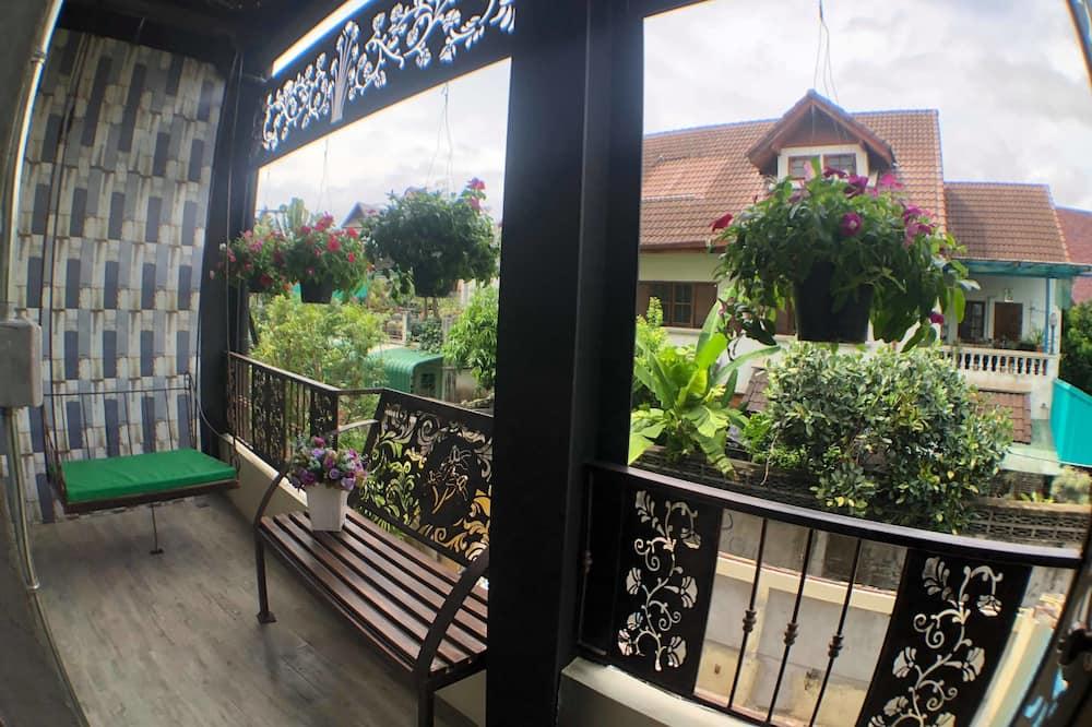 Superior-Doppel- oder -Zweibettzimmer, Balkon, Gartenblick - Balkon