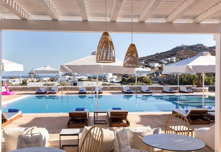 Osom Resort, Mykonos, Utomhuspool