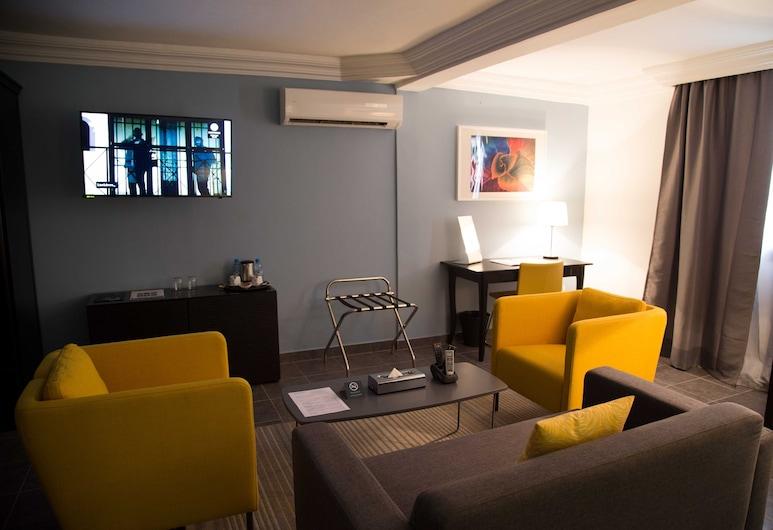 Semiramis Hotel, Nouakchott, Superior-Suite, Zimmer