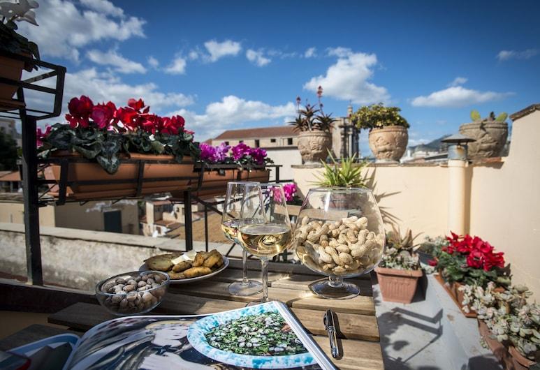 Dimora Torremuzza, Palermo, Doppia Deluxe, vista mare, Balcone