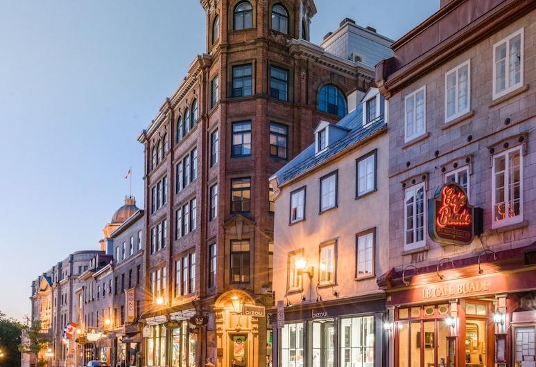 Les Lofts du Trésor - By Les Lofts Vieux-Quebec, Québec, Fassade der Unterkunft – Abend/Nacht