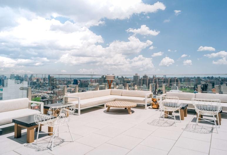 Hotel 50 Bowery, part of JdV by Hyatt, Nova York, Área para refeição ao ar livre