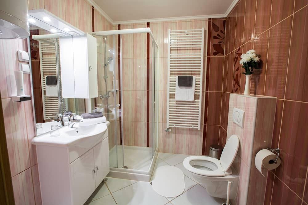 Premium-Apartment, 1 Schlafzimmer, Küche - Badezimmer