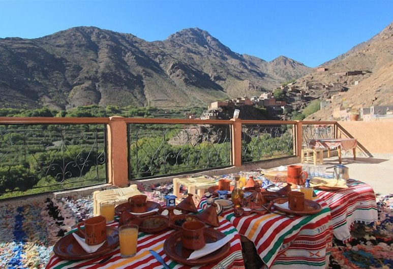 Imlil Authentic Toubkal Lodge, Asni, Outdoor Dining