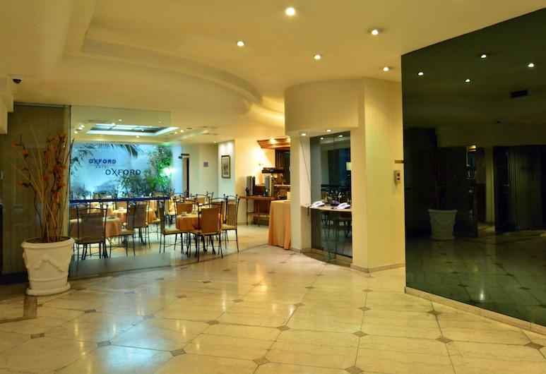 Oxford Hotel, Montevideo, Lobby