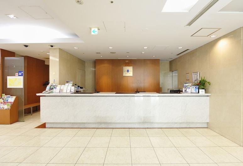 HOTEL UNIZO Tokyo Shimbashi, Tókýó, Móttaka