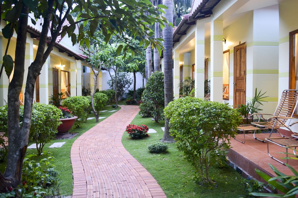 Bungalow – deluxe - Terrasse/veranda