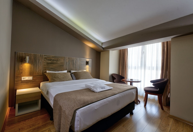 Arus Hotel, Eskisehir, Economy-dobbeltværelse - 1 dobbeltseng, Værelse