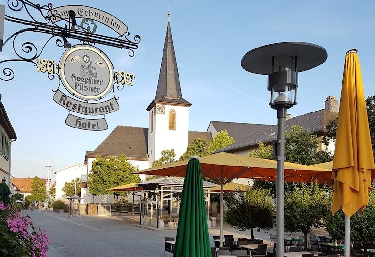 Hotel Restaurant Erbprinz Walldorf, Walldorf, Terrace/Patio