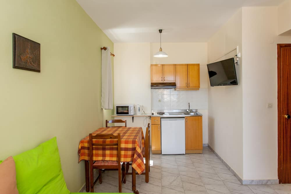 Standaard appartement, 1 slaapkamer, op benedenverdieping - Woonruimte